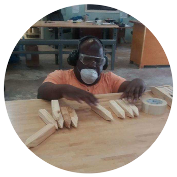 hope services woodshop worker